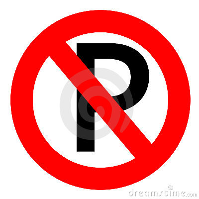 Free No Parking Sign Stock Photo - 3301640