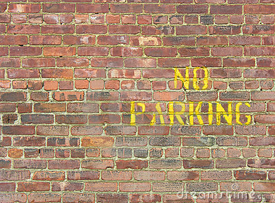 NO Parking on Wall
