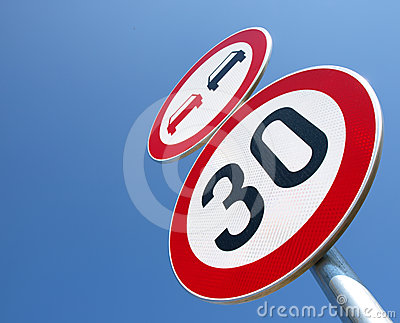 No-passing and the speed limit