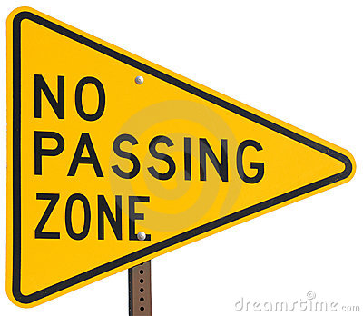 No Passing Zone
