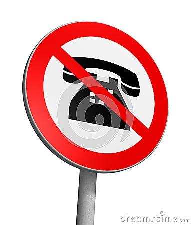 No phoning