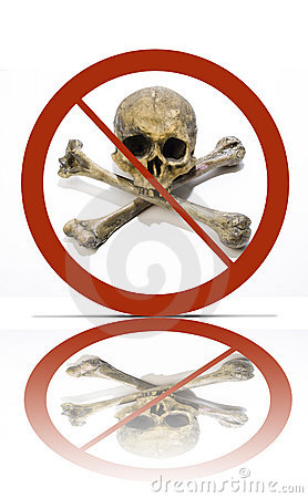 No piracy symbol