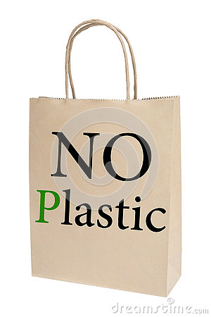 Free No Plastic Bag Concept Stock Photo - 77399720