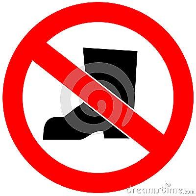 no shoes royalty free stock photos image 12560608