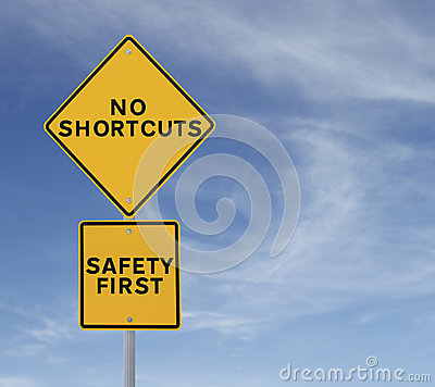 Free No Shortcuts To Safety Stock Photography - 28459142