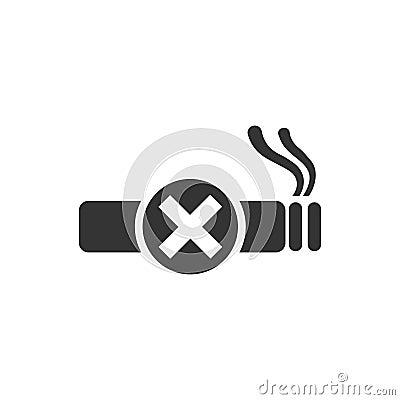 Free No Smoke Icon Stock Photos - 111629623