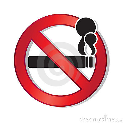 Free No Smoking Royalty Free Stock Photos - 10015338