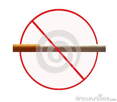 No smoking board