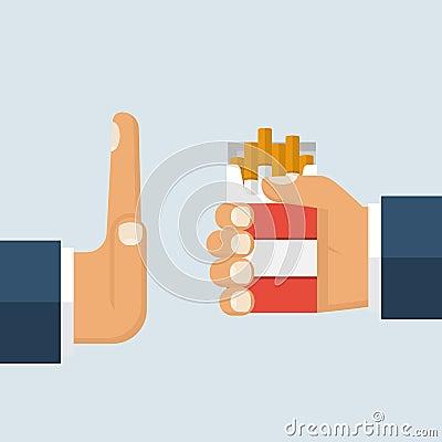 Free No Smoking. Reject Royalty Free Stock Image - 88617286