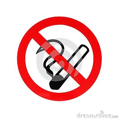 Free No Smoking Sign Royalty Free Stock Image - 102790656