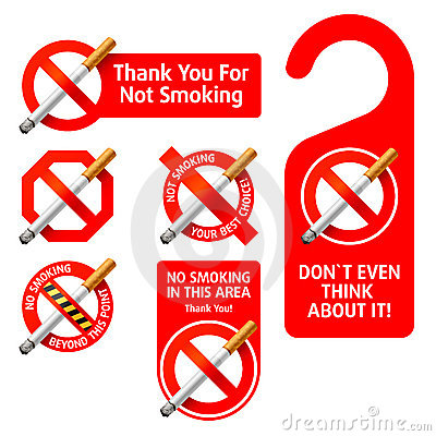 Free No Smoking Signs Royalty Free Stock Photography - 10426717