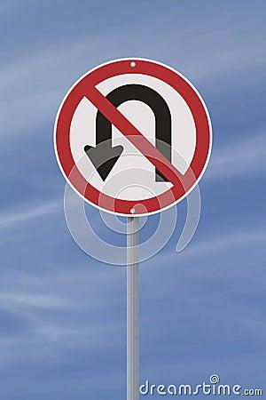 U-Turn Not Allowed