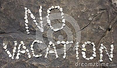 No Vacation Royalty Free Stock Image - Image: 10688336