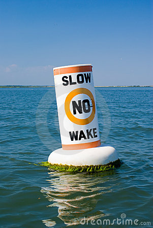 No Wake Buoy