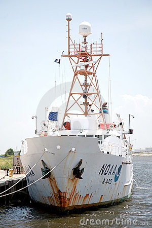 NOAA Research Vessel Editorial Photography