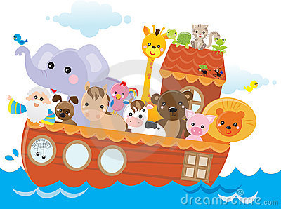 Noah's ark Vector Illustration