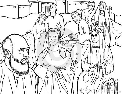 noah s family coloring page images
