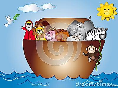 Noahs Ark Stock Photo