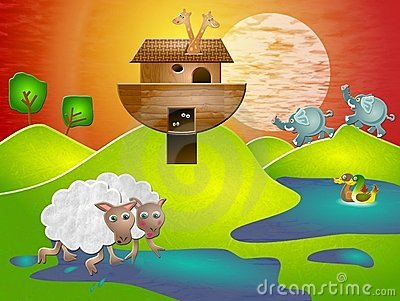 Noahs Ark Stock Photo