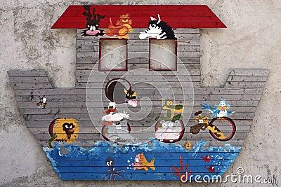 Noahs Ark Flood