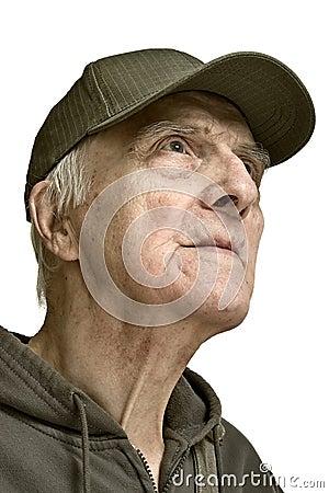 Noble beauty elderly men