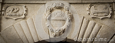 Noble Heraldic Symbol Stock Photography - Image: 26220512