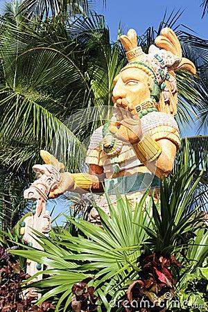 Noble man statue