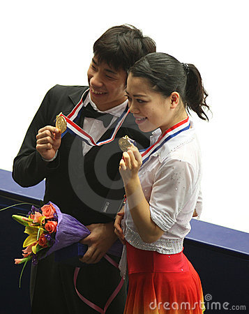 Nobunari Oda and Akiko Suzuki (JPN) Editorial Photography