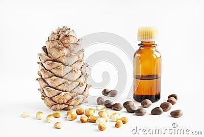 Noci ed olio di cedro