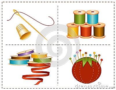 Nociones de costura de +EPS, colores de tierra
