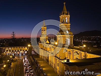 Nocturnal Plaza De Armas