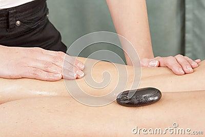 Noga masaż