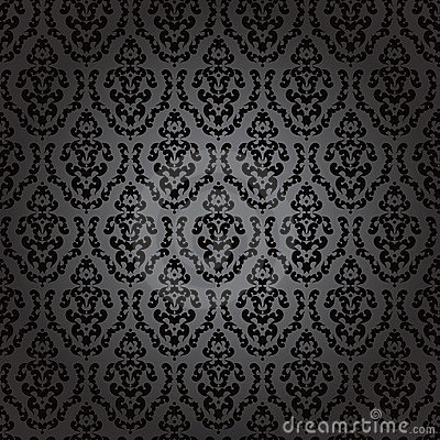 noir baroque de papier peint sans joint photographie stock image 22212192. Black Bedroom Furniture Sets. Home Design Ideas