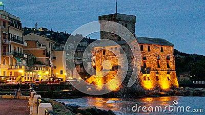 Noite do castelo de Rapallo filme