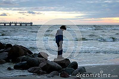 Noite pelo mar III