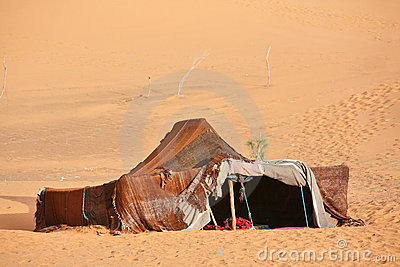 The nomad (Berber) tent