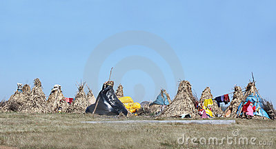 Nomad Huts