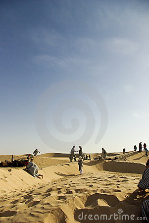 Wüste nomaden