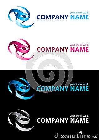 Nombre de compañía. Elementos del diseño.