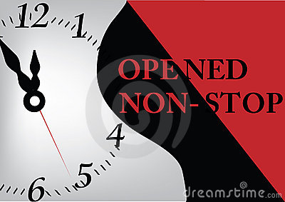 Non Stop opened