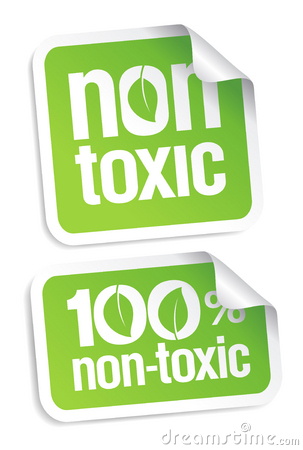 Non toxic stickers.