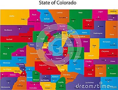 Χάρτης του Κολοράντο