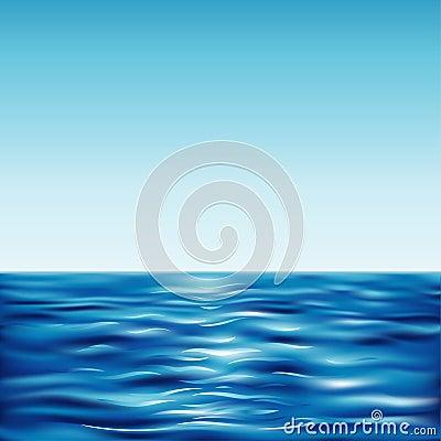 μπλε σαφής ουρανός θάλασ&