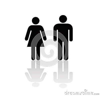 图标人妇女