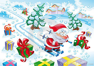克劳斯・圣诞老人雪