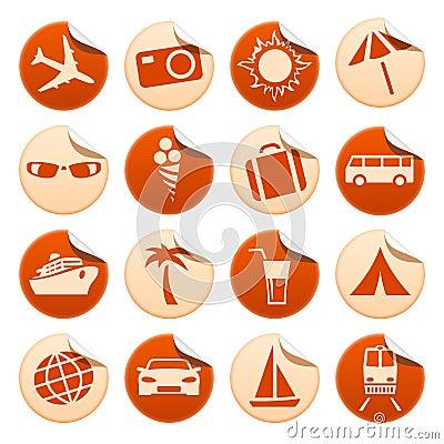 贴纸旅游业旅行