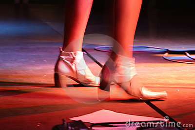 πόδια τραγουδιστών