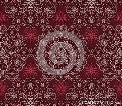 背景花卉褐紫红色