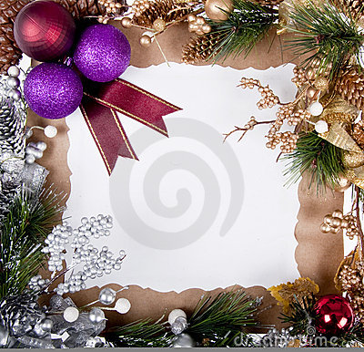рамка рождества карточки