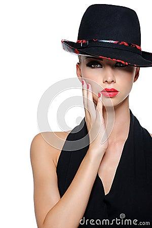 魅力纵向妇女
